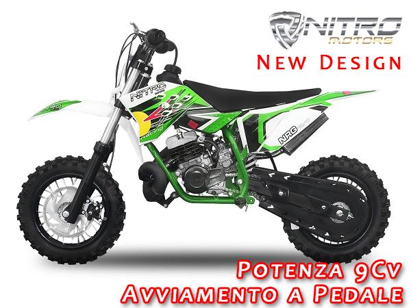 Minicross Nrg50 10 Quot 49cc Per Bambini Al Miglior Prezzo