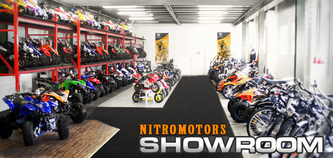 showroom azienda nitromotors per nitromotorsitalia