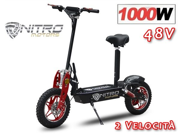 1171049 MONOPATTINO ELETTRICO TWISTER 1000W 48V CROSS