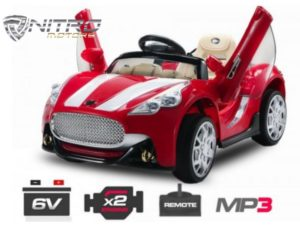 1191131 ASM Coupè Aston Martin Style MINI AUTO ELETTRICA PER BAMBINI