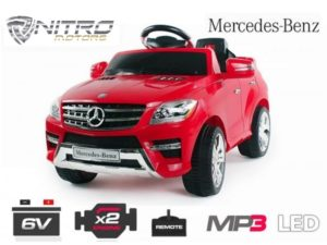 00 1191144 Mercedes ML350 MINI AUTO ELETTRICA PER BAMBINI