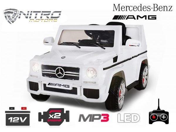 1191146 Mercedes Benz G65 MINI AUTO ELETTRICA PER BAMBINI