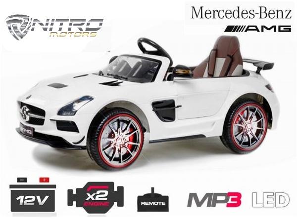 Auto Elettrica Per Bambini Mercedes Benz Sls Amg Al Miglior Prezzo