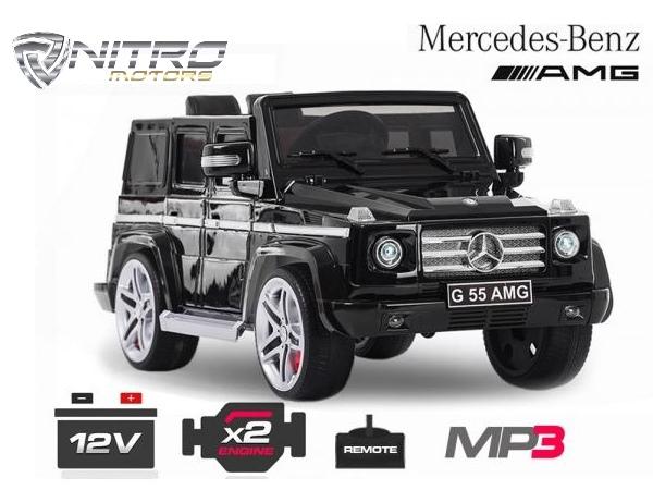 Auto Elettrica Per Bambini Mercedes Benz Nv G55 Al Miglior Prezzo